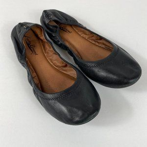 Lucky Brand Emmie Ballet Flats Leather Shoes